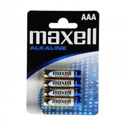 Maxell Pila Alcalina AAA LR03 x4