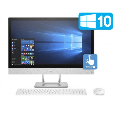 """HP Pavilion 24-r055ns Intel i5-7400T/8GB/1TB-128SSD/R530-2GB/23.8"""" Táctil"""