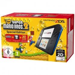 Nintendo 2DS Azul/Negra + New Super Mario Bros 2
