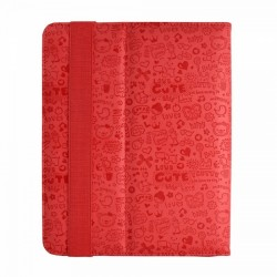"Woxter Funda Fashion Cover 80 8"" Roja"