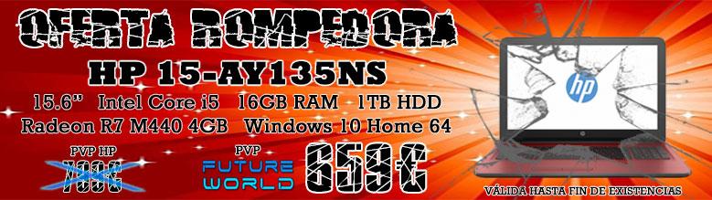 Oferta Portátil HP 15-ay135ns