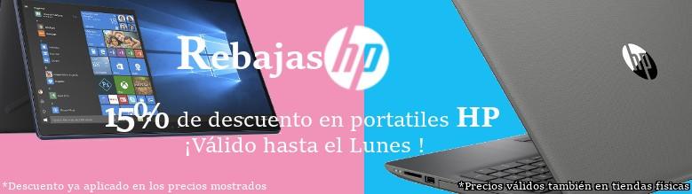 Rebajas de Verano en portatiles HP