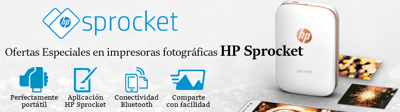 Ofertas Especiales HP Sprocket