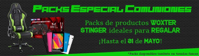 Packs Especiales para Comuniones