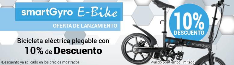 SmartGyro E-Bike - Oferta de Lanzamiento