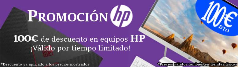 100€ de Descuento en Equipos HP seleccionados